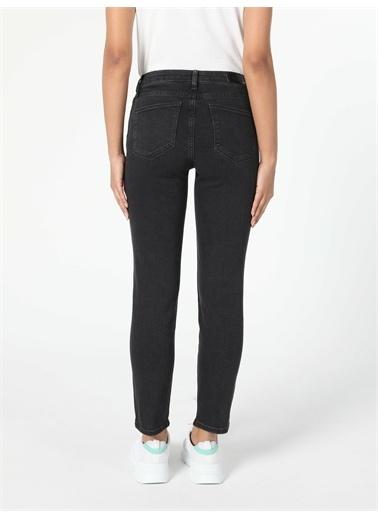 Colin's CL1057142_Q1.V1_DN08086 703 Carla Slim Fit Orta Bel Düz Paça Kadın Jean Pantolon Renkli